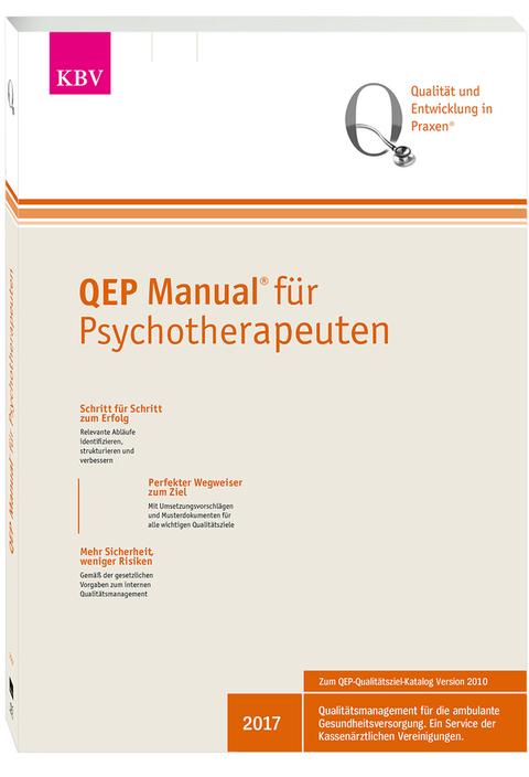 Abbildung des QEP-Manuals für Psychotherapeuten