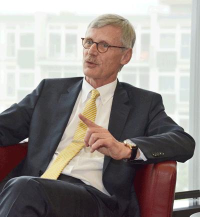 KBV-Vorstandsmitglied Dr. Thomas Kriedel