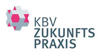 Logo mit Text KBV Zukunftspraxis
