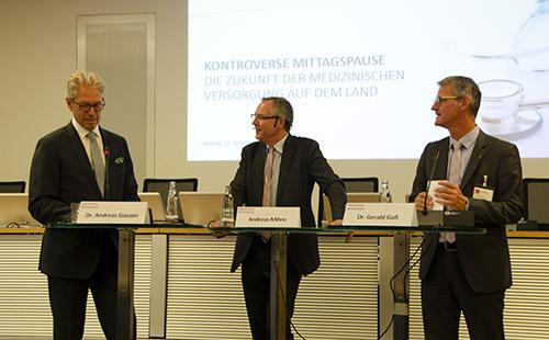 Dr. Gassen und Dr. Gaß bei Kontrovers Diskussion