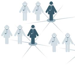 Piktogramm Praxisnetze