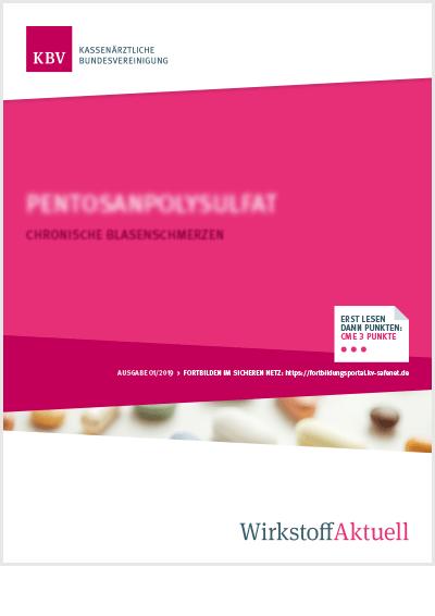 Titelseite der Publikation Wirkstoff Aktuell