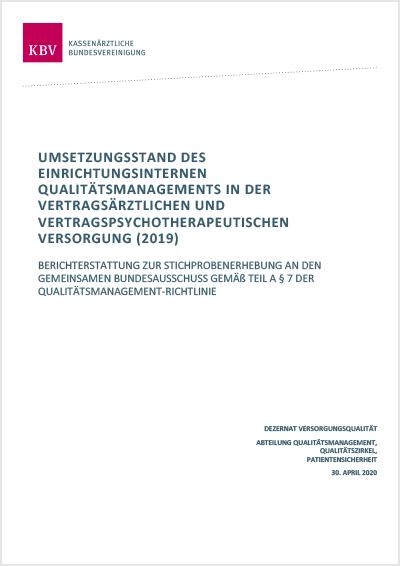 Titelseite der Publikation