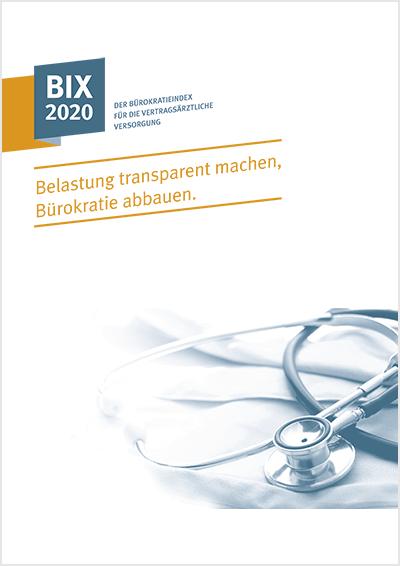 Titelseite der Broschüre Bürokratieindex