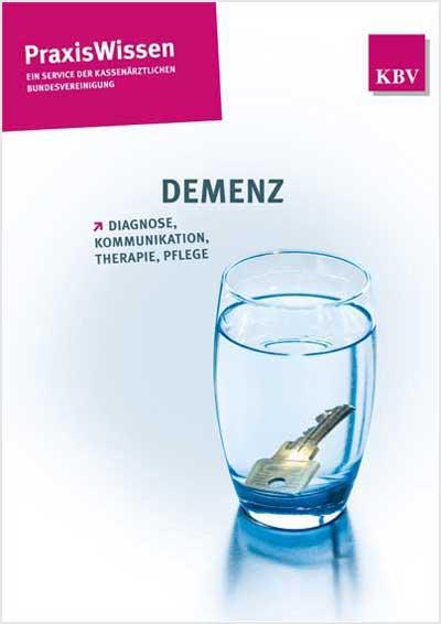 Titel der Broschüre Praxiswissen: Demenz