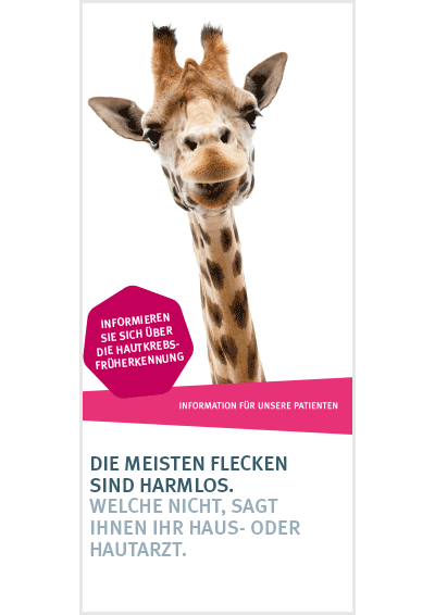 Flyer Hautkrebs-Check