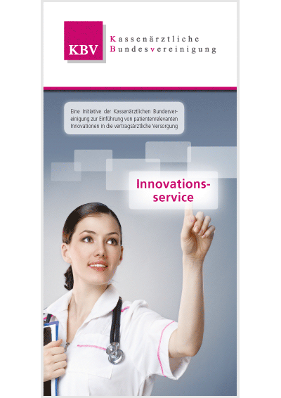 Titelseite der Broschüre Innovationsservice