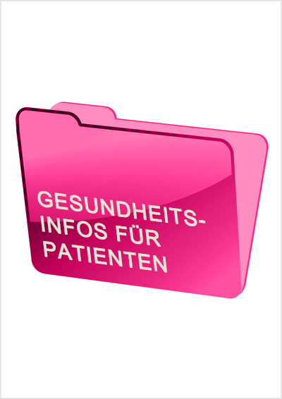 Ordnersymbol Patienteninformationen