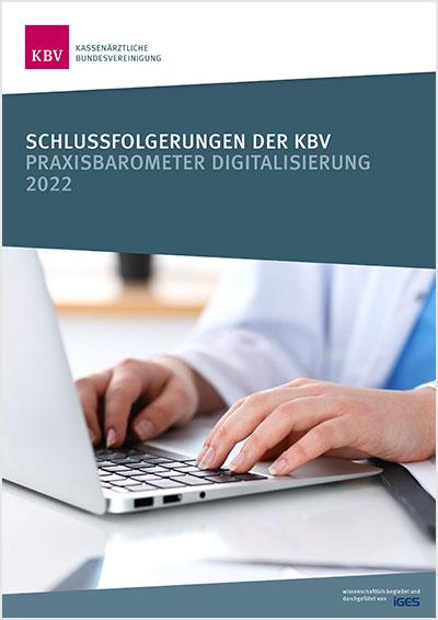 Titelseite des Praxisbarometers Digitalisierung
