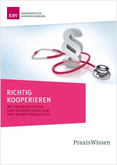 Titelblatt der Broschüre Richtig Kooperieren