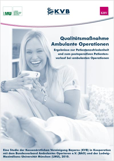 Titelbild Studie Patientenzufriedenheit bei ambulanten Operationen