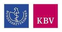 Logos von Bundesärztekammer und Kassenärztlicher Bundesvereinigung