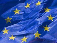 Flagge der Europäischen Kommission