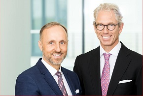 Dr. AndreasGassen (rechts) und Dr. Stephan Hofmeister (links)