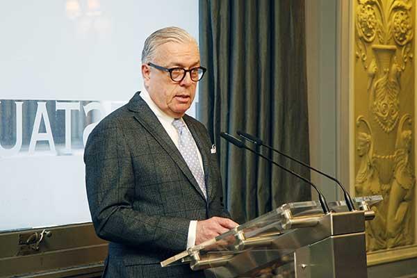 Der Präsident der Bundesärztekammer, Dr. Klaus Reinhardt Fotos © Alexander Louvet