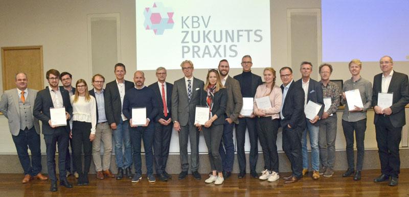 Gewinner der KBV-Zukunftspraxis (Foto: Tom Funke)