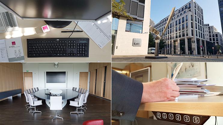 Ihr neuer Arbeitsplatz wartet in modernen und lichtdurchfluteten Büros auf Sie; bei Bedarf auch mit ergonomischer Aussattung.