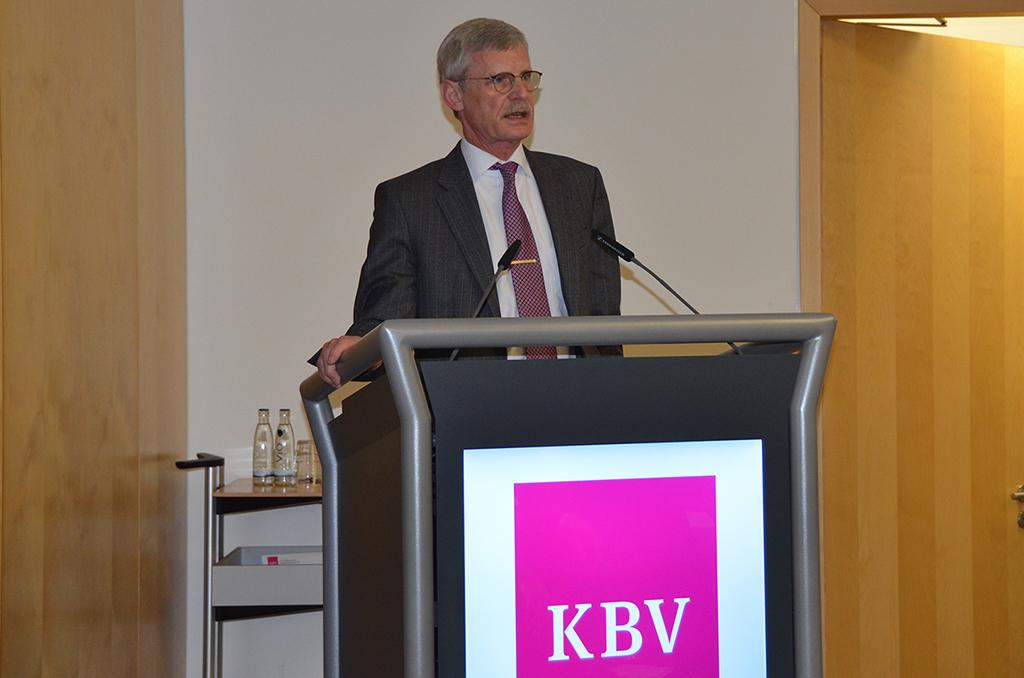 Wichtig sei die Bereitschaft der Ärzte, die Digitalisierung in der Versorgung auch zu nutzen, betonte Dr. Thomas Kriedel.