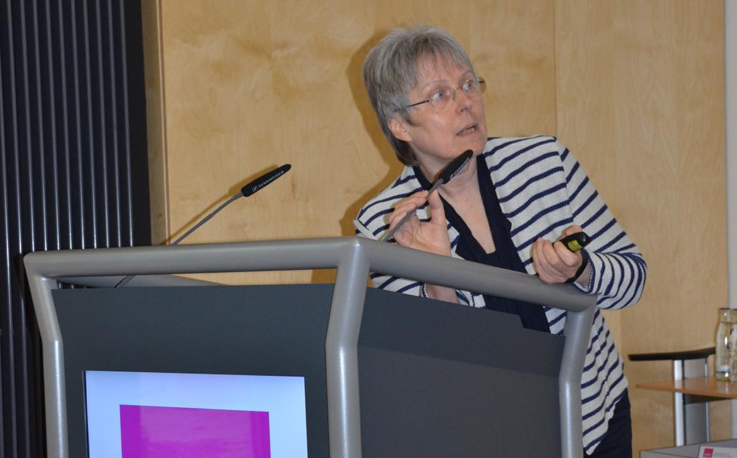 Dr. Irmgard Landgraf gibt einen Einblick in den durch die Digitalisierung veränderten Praxisalltag.
