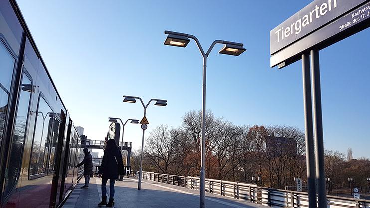 In unmittelbarer Nähe zum S-Bahnhof Tiergarten, ist die KBV ganz einfach zu erreichen.