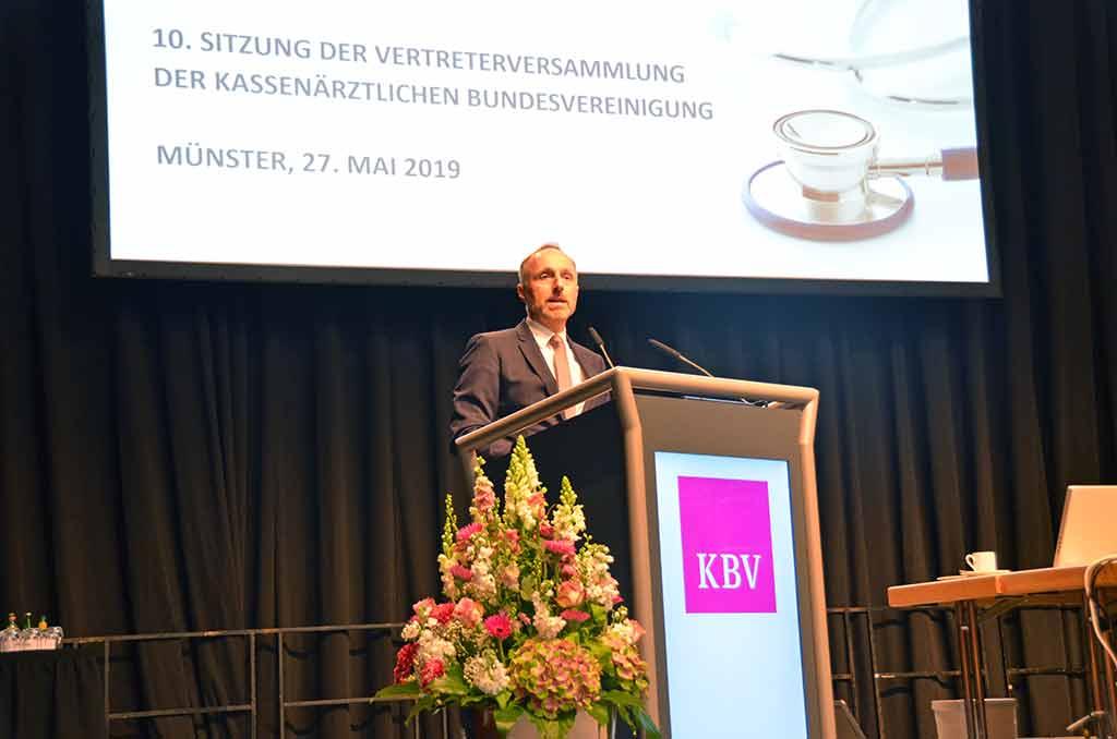 Dr. Stephan Hofmeister. © KBV/Tabea Breidenbach