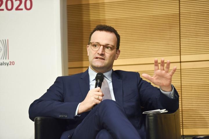 Bundesgesundheitsminister Jens Spahn war zu Gast auf dem Podium der Veranstaltung. Foto: Andrea Katheder