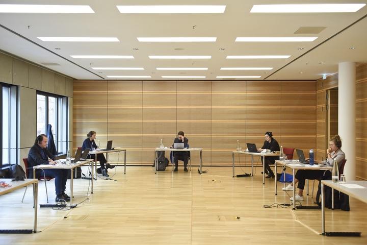 Betreuung der Fachforen von Mitarbeitenden der KBV. Foto: Andrea Katheder