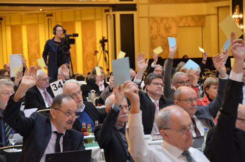 Abstimmung im Plenum © KBV/Tom Funke