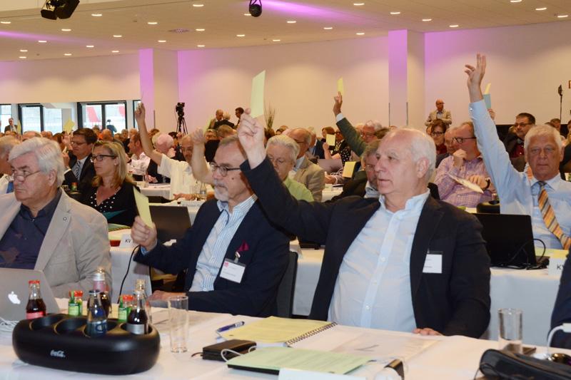 Abstimmung der Delegierten (Foto:Ebert/KBV)