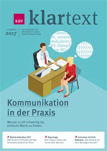 Klartext - das gesundheitspolitische Magazin der KBV